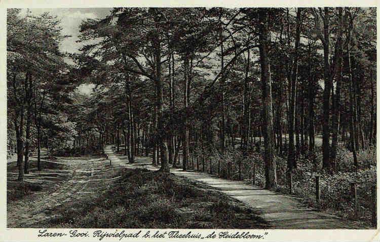 Rijwielpad+Theehuis+De+Heidebloem+1940+J.+Coerdes